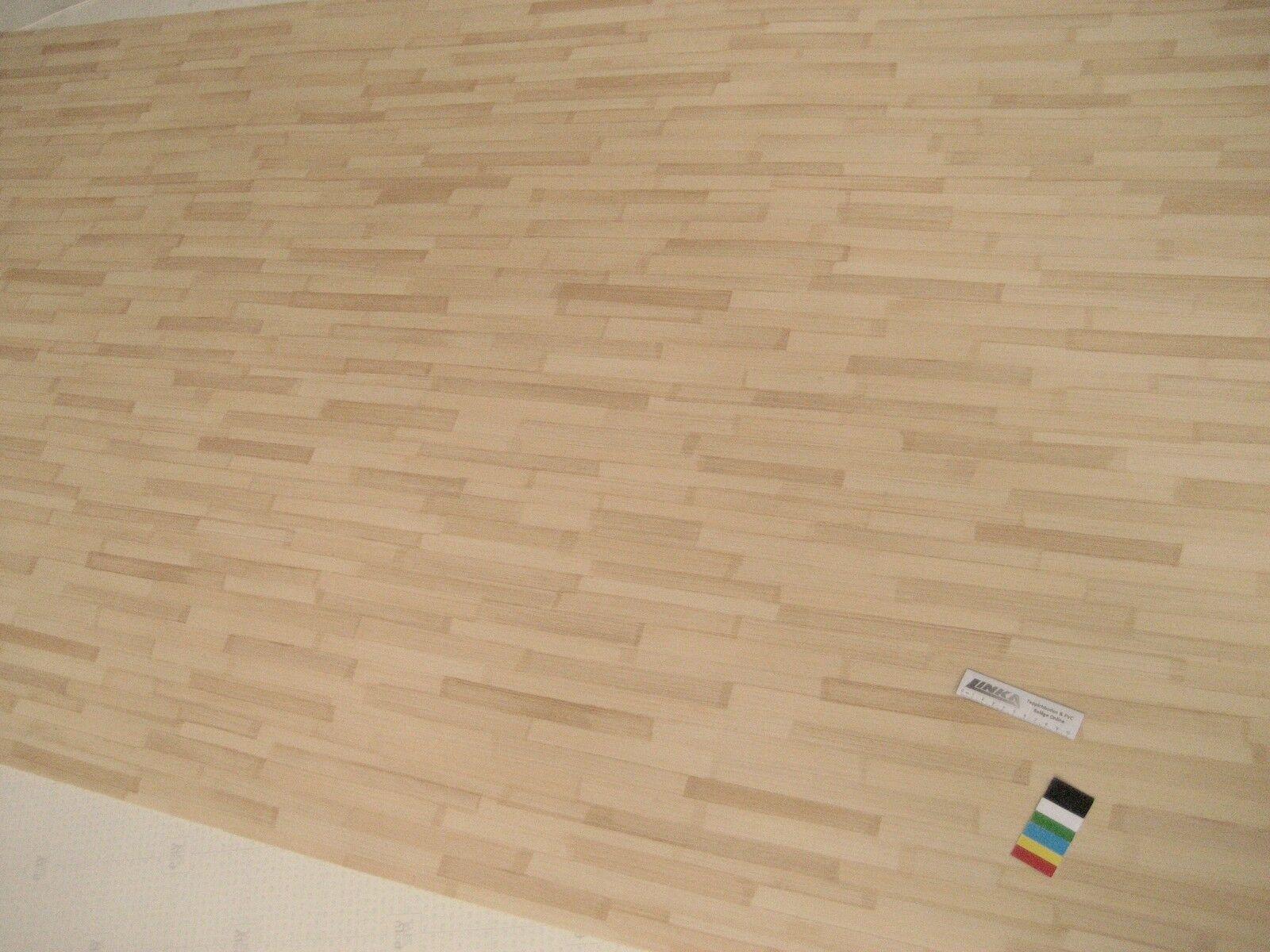 6839 PVC Belag bambus 418x100 cm Bodenbelag Rest CV Boden Restrolle ausgefallen