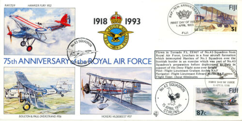 75th Anniverary of the RAF - RAF (75) 09 - No. 43 Squadron - 100 Only !