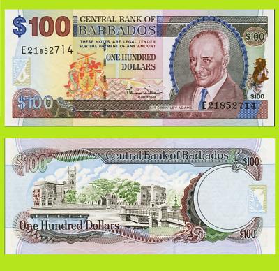 Reproduction Trinidad tobago 100 dollars 2000 UNC