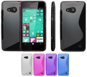 online store 2828f 157e8 Details about S-Gel Wave Tough Shockproof Phone Case Gel Cover Skin  Microsoft Lumia 550