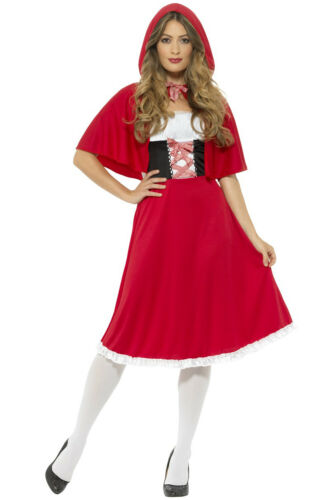Brand New Sweet Red Riding Hood Women Adult Costume