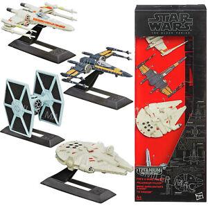 New Star Wars The Black Series Titanium Vehicles 4 Multi-Pack B3826