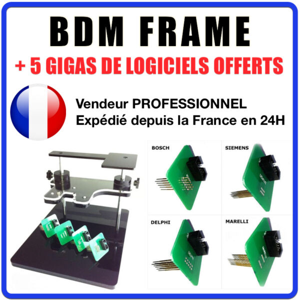 Bdm Frame Support Pour Calculateurs Compatible Bdm 100 Fgtech Galletto Mpps Kwp