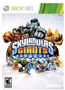 Skylanders Giants Xbox 360 Kids Replacement Game No Portal No Characters