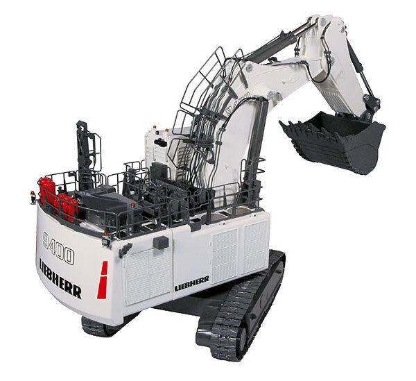 NZG 860-1 LIEBHERR R9400 Mining Pelle avec pelle 1  50 brand-nouveau Comme neuf in box  Achetez maintenant
