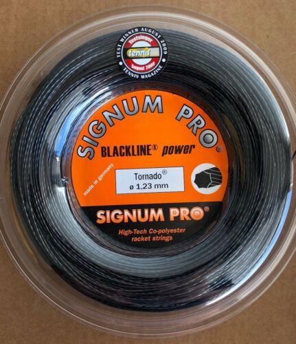 1.23mm Signum Pro Tornado 17G Tennis String REEL 660 feet // 200m