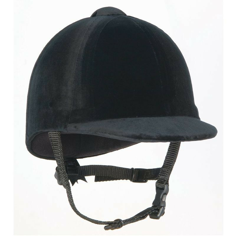 CHAMPION CPX 3000 Junior Cappello da equitazione in velluto