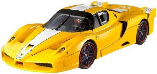 Ferrari fxx rennwagen gelb von hot wheels elite - ausgabe 18 versandkosten verkauf