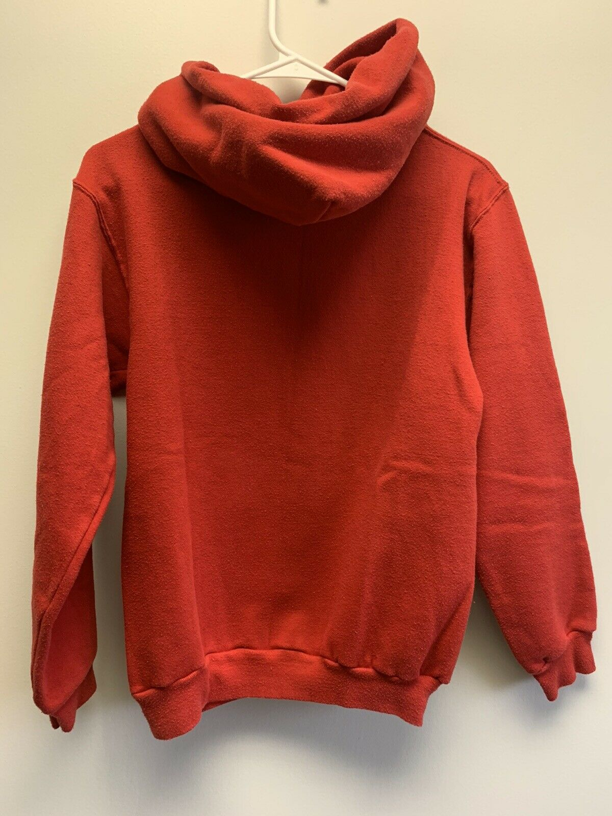 Vintage Russell Athletic Gold Tag Blank Hooded Sw… - image 2