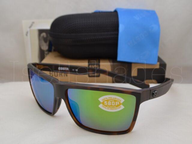 9916d91cbe Costa Del Mar Rinconcito Polarized Ric191 OGMP Sunglasses Tortoise green  580p