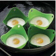 1 PC Eier Kochen Eierkocher Eierbecher Silikon Backform Becher Küchenhelfer