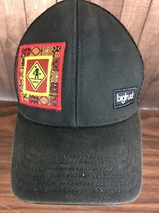 30e5172480f2e0 Big Truck Black Mesh Trucker Hat Ball Cap Snapback Hula Hoop   eBay