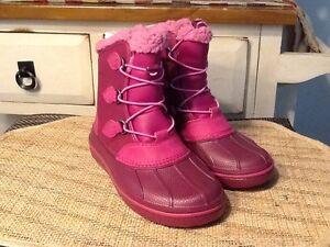 New Crocs AllCast II Big Kids Waterproof Winter Boots Size J2