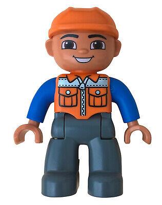 Lego Duplo Figur Mann Arzt Sanitäter Doktor Pfleger Trage Krankenhaus Figuren