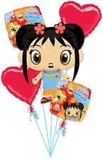 Ni Hao, Kai-Lan Nick Jr TV Kids Birthday Party Decoration Mylar Balloon Bouquet