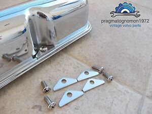 VOLVO AMAZON 121 122 P1800 PV 544 140 VALVE COVER HOLD DOWN KIT STAINLESS STEEL.