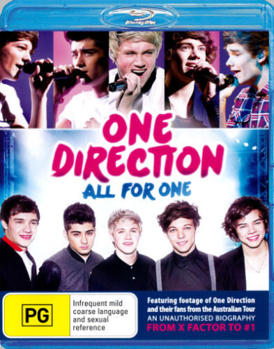 1 of 1 - One Direction: All For One (An Unauthorised Biography)  - BLU-RAY - NEW Region B