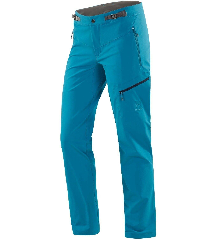 Haglöfs Lizard Pant Women Lightweight Womens Softshell Pants  Mosaic bluee  more discount