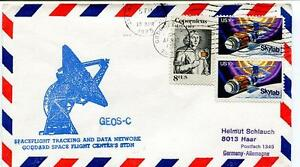 100% De Qualité 1975 Geos-c Spaceflight Tracking Data Network Goddard Stdn Skylab Space Nasa Usa