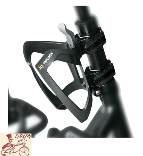 SKS ANYWHERE MOUNT W// TOPCAGE BLACK WATER BOTTLE CAGE