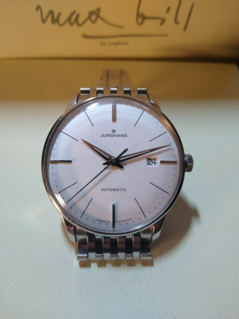 Junghans Meister Classic Automatic (Max Bill) Wristwatch 027/4111