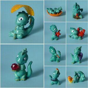 U-Ei-Komplett-Satz-Die-Drolly-Dinos-BPZ-Deutschland-1993