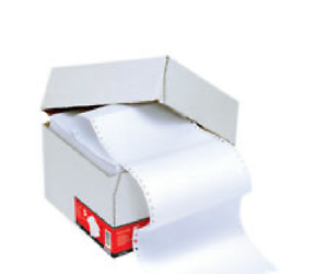 5 Star 295578 Listing Paper 1-Part Microperforated 60gsm 11inchx241mm 2000 sheet
