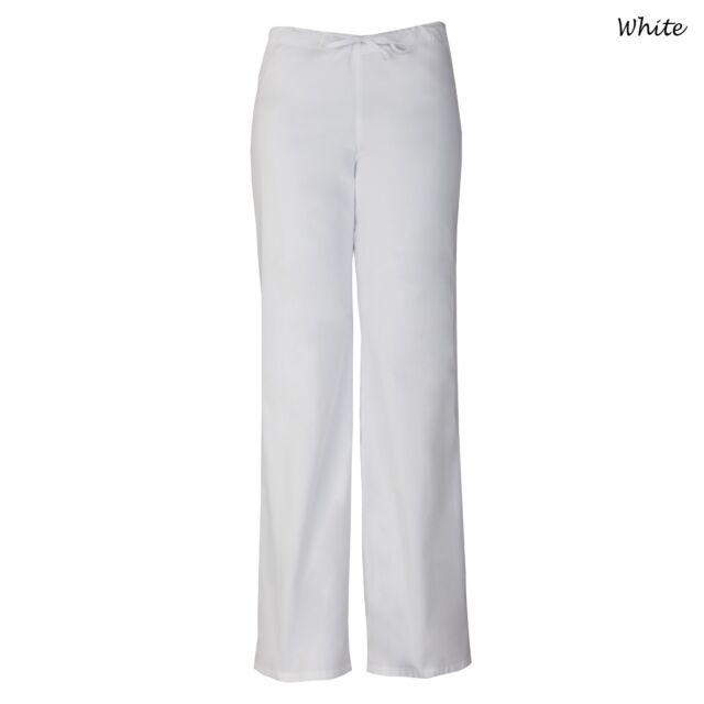 125aa6e04f7 White Dickies EDS Signature Unisex Drawstring Scrub Pants 83006 WHWZ ...