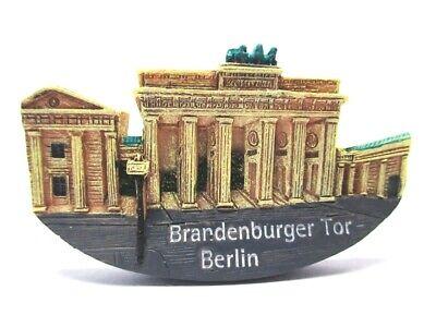 Berlin Magnet Poly Souvenir Germany Brandenburger Tor Mit Anbau Preisnachlass