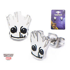 OFFICIAL GUARDIANS OF THE GALAXY - BABY GROOT SHINY PAIR OF EARRINGS (NEW)