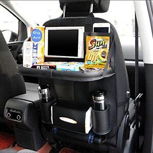 Image Is Loading Car Seat Back Folding Table Storage Tray Multi