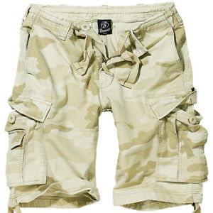 0539c9259a Image is loading Brandit-Vintage-Classic-Army-Cargo-Mens-Combat-Shorts-