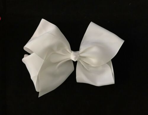 LARGE 8 INCHES GIRLS HAIR BOW//STYLE HAIR BOW//ONE SUPPLIED