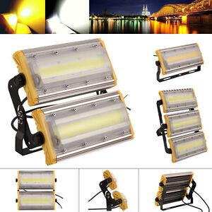LED Fluter 50W 100W 150W Module Flutlichter COB Strahler Außen Scheinwerfer IP65