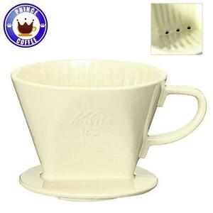 Image Is Loading Kalita Pour Over Ceramic Porcelain Coffee Dripper 102