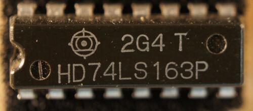 NOS Hitachi HD74LS163P  Qty 1   DIP16           Ship in USA Tomorrow!