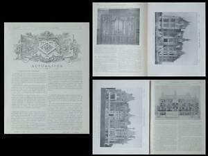 LA-CONSTRUCTION-MODERNE-n-34-35-36-1903-CHAOURCE-CHATEAU-DE-LA-CORDELIERE