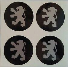 4 x 50 mm fits peugeot wheel STICKERS center badge centre trim cap hub alloy b
