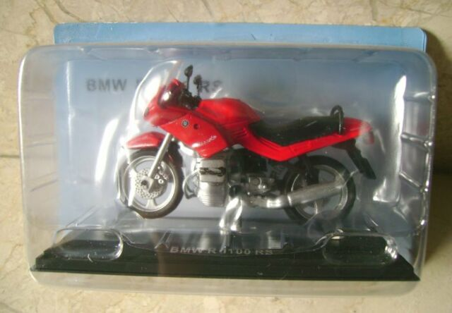 Bmw R1100rs 1 24th Diecast Model Motorcycle Yellow For Sale Online Ebay
