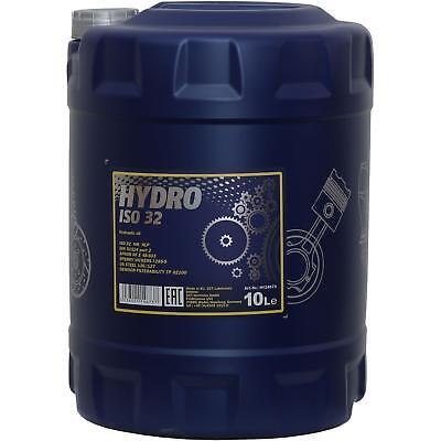 Frugale 10 Litri Originale Mannol Olio Idraulico Hydro Iso 32 Hydraulic Fluid-mostra Il Titolo Originale