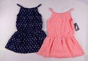Nautica-Girls-Chiffon-Printed-Dress-with-Tier-sizes-2-3-4