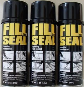Details about NEW - (3) Dow Fill and Seal Expanding Foam Sealant  Insulation, 12oz