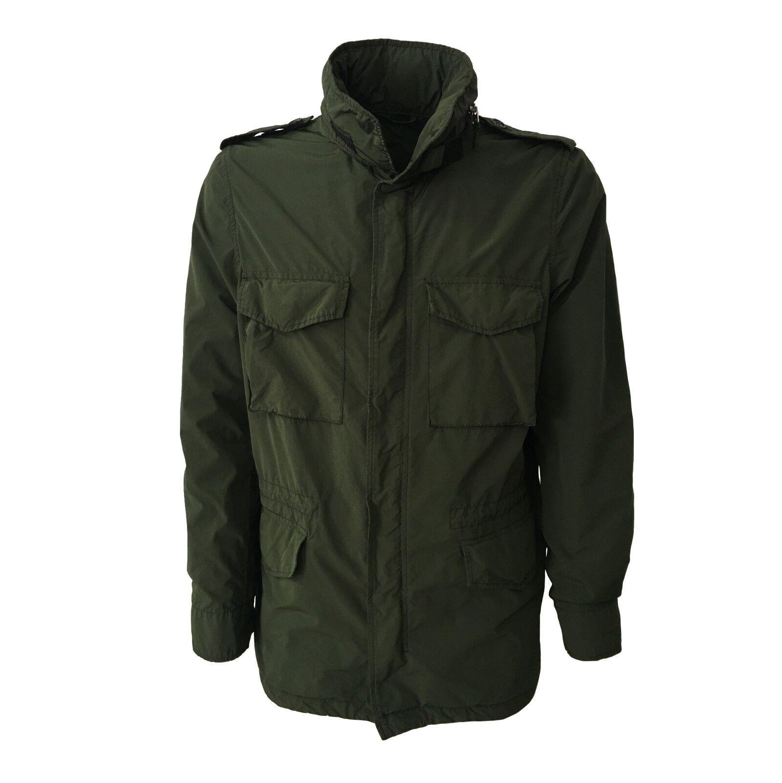 2ccda2a74b Dettagli su ASPESI giacca uomo verde mod I I721F973 65 REPLICA 80%  poliestere 20% poliammide