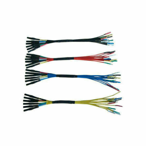 4 Pcs Hantek HT306 6Canal 6Formas Universal Breakout Cable For Osciloscopio