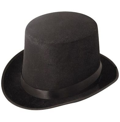 Fancy Dress Black Velour Topper Top Hat Victorian 1920s quantities of 5//10//15//20