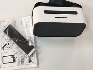 Sharper Image Virtual Reality Smartphone Viewer Whiteblack Great