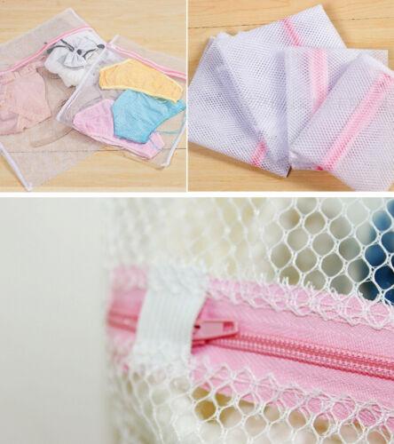 Wäschenetz mit Reißverschluss Wäschesack Wäschebeutel Tasche Waschmaschine S-L