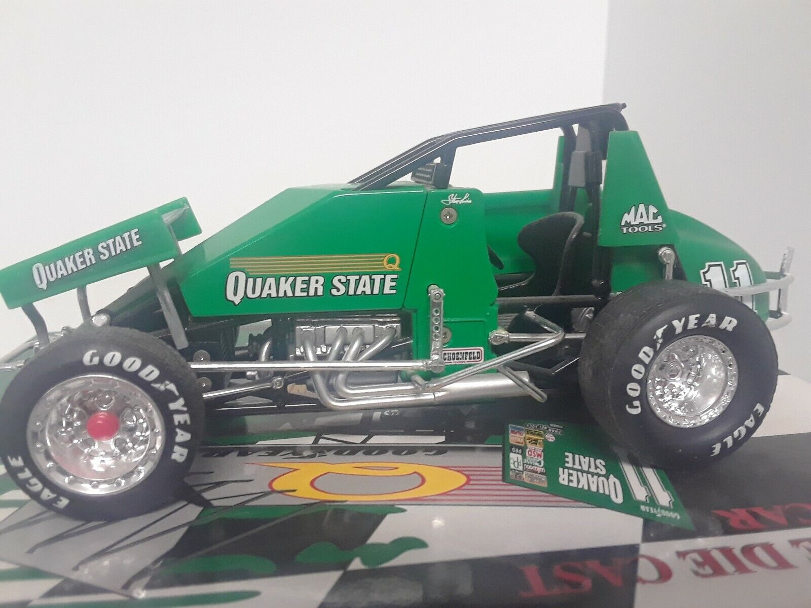 1 25 Steve Kinser Sprint Car 1 of 4404 Quaker State