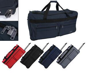 XXL Trolley Reisetasche mit Rollen Sport Tasche Koffer Trolleytasche Trolly 130L