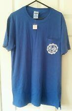 BNWT Victoria's Secret Love Rosa Azul Camiseta Camiseta XS campus de Bolsillo UK 6-8